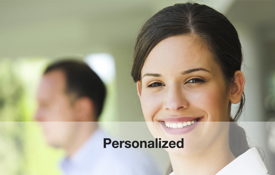 Personal Account managers make it personalized