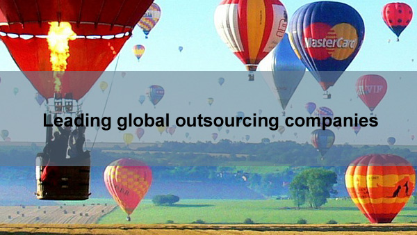 Leading global outsourcing companies