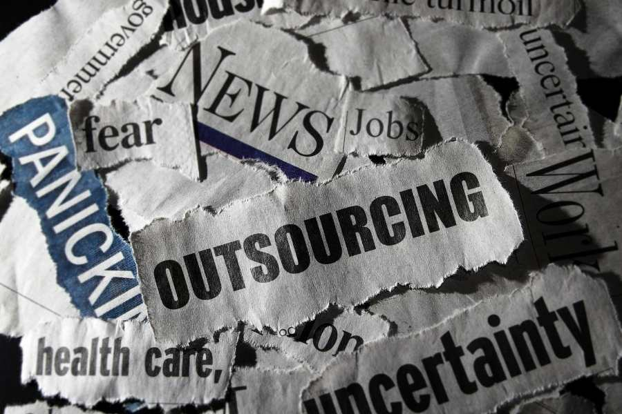 American job outsourcing threat