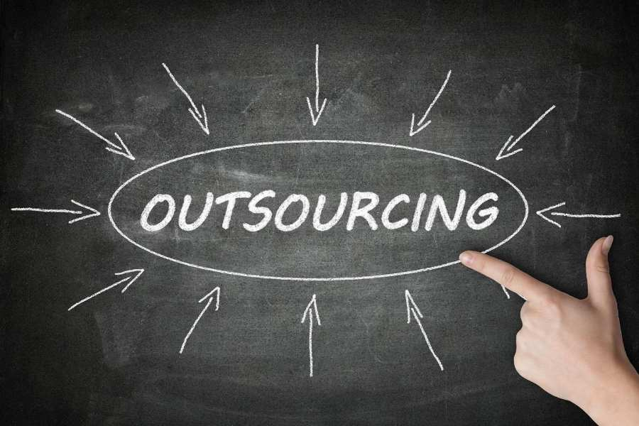 Popular applications of outsourcing work